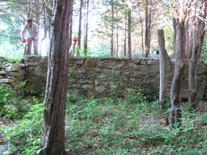 An Existing Stone Wall Will Be Preserved
